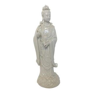 Blanc De Chine Guanyin Figure