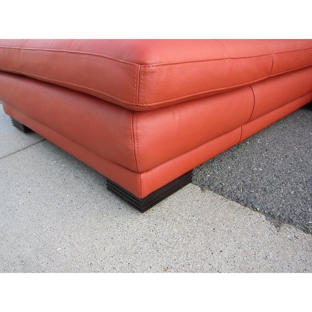 Roche Bobois Sunset Orange Sectional Sofa - Image 3 of 9