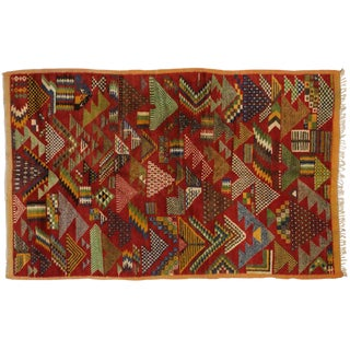 Vintage Berber Moroccan Rug -- 5'4 x 8'2
