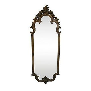 Ornate Baroque Gold Dressing Mirror