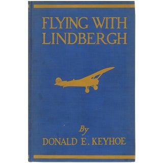 """Flying With Lindbergh"" 1929 Book"