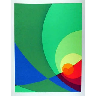 "1980 Herbert Aach ""Split Infinity #B3s"" Print"