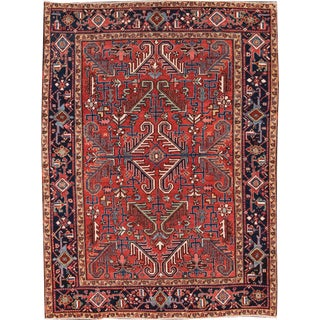 "Apadana - Antique Persian Heriz Rug, 6'9"" x 9'2"""