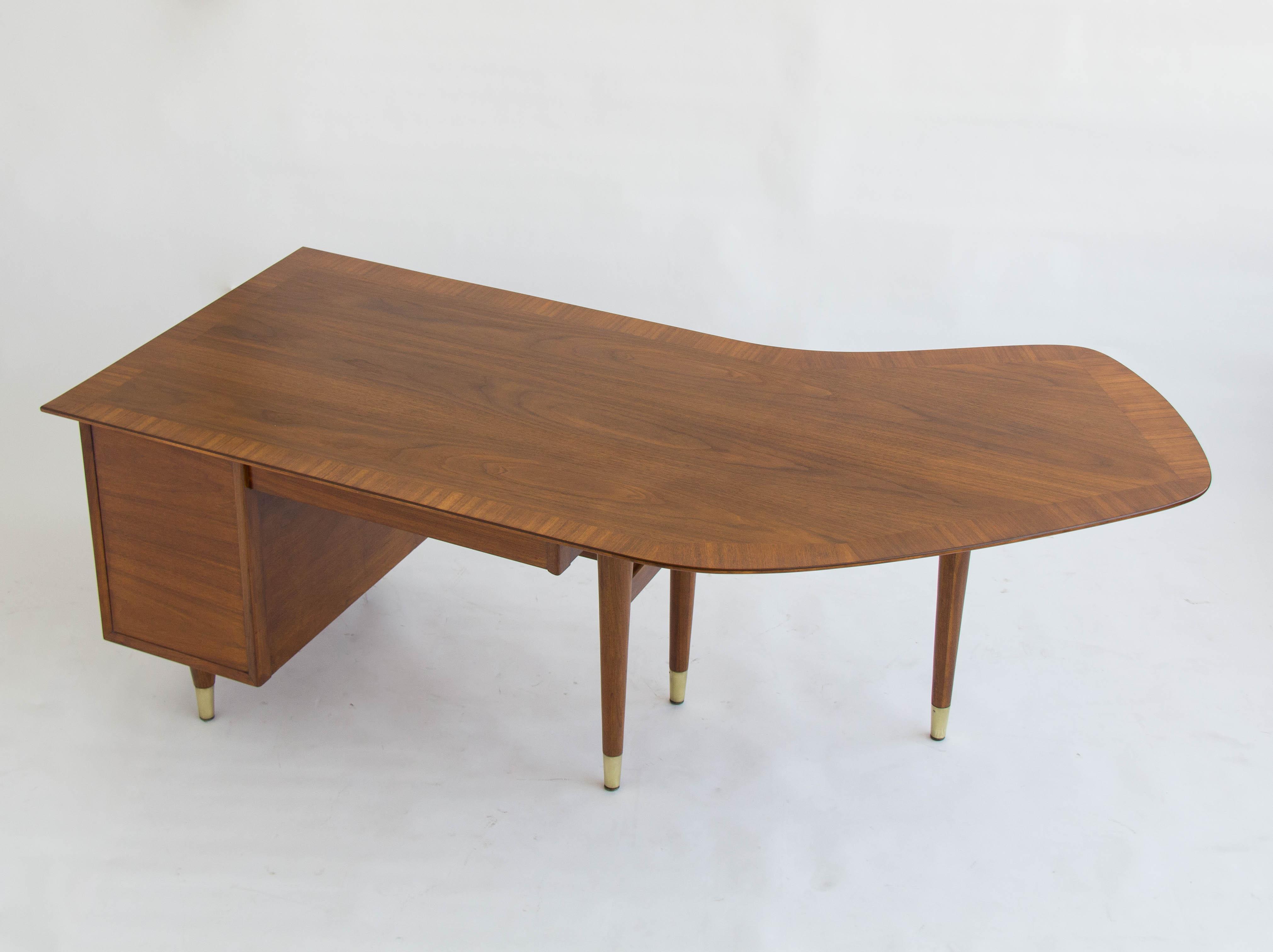 Standard Furniture Co Walnut Executive Desk