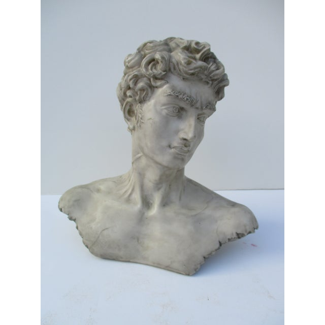Neoclassical Vintage Cast Resin Bust - Image 2 of 11