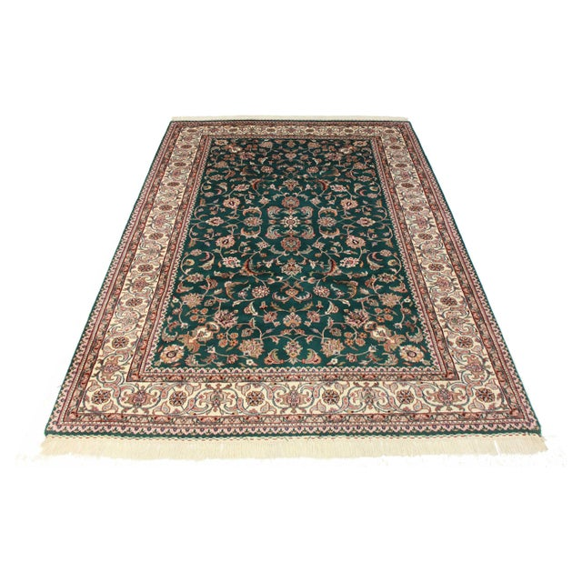 Image of Indian Rug, Persian Pattern - 6′1″ × 8′5″