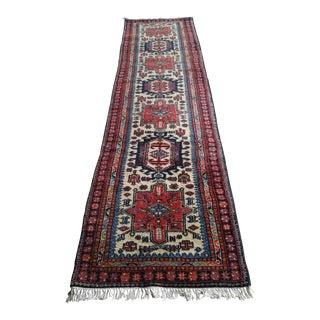 Persian Tribal Wool Runner- 2′9″ × 11′