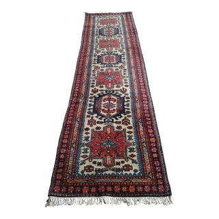 Indian Tribal Wool Runner- 2′9″ × 11′
