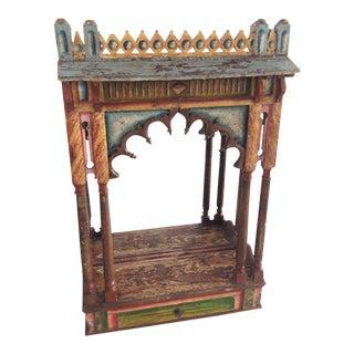 Antique Indian Altar Display