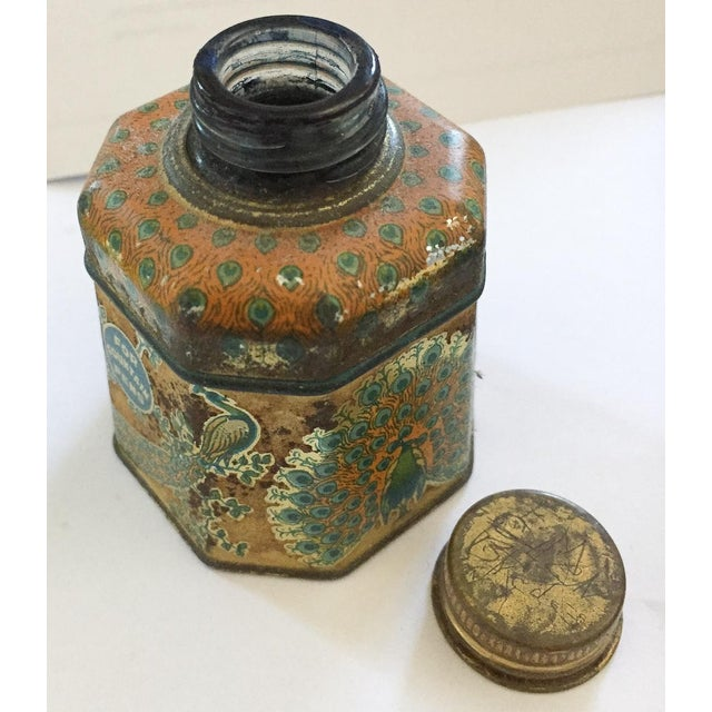 Antique Peacock Fountain Pen Ink Bottle Chairish