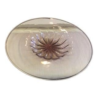 Barovier & Toso Purple Murano Glass Platter