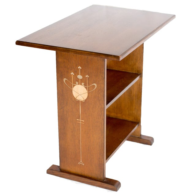 Image of 2007 Stickley Co. Harvey Ellis Inlaid Table