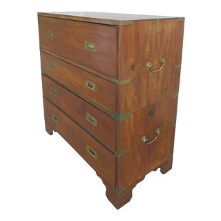 19th Century Campaign Chest of Drawers and Desk