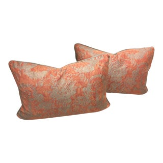 Fortuny Festoni Patterned Pillows - A Pair
