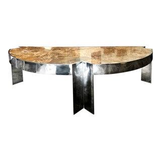 """Leon Rosen for Pace Collection """"Mezzaluna"""" Executive Desk"""