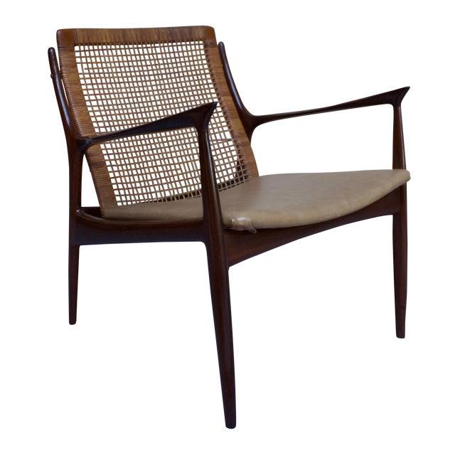 Kofod Larsen Cane Back Lounge Chair - Image 1 of 11