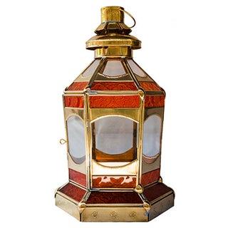 Moroccan Sunrise Candleholder Lantern