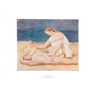 "Pablo Picasso ""Famille Au Bord De La Mer"" Lithograph"