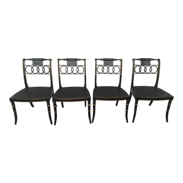 Baker furniture governor alston chairs set of 6 chairish for Chair 6 mt baker