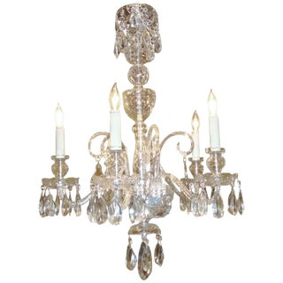 Crystal Waterford Style Chandelier