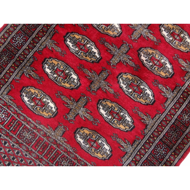 """Hand-Knotted Red Runner Rug - 2'6 x 6'4"""" - Image 7 of 11"""