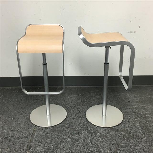 Lapalma Lem Adjustable Barstools - Pair - Image 4 of 8