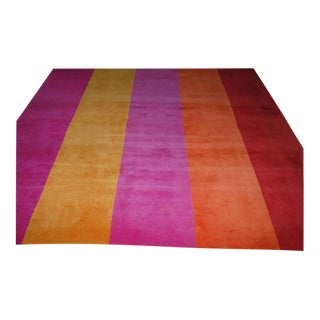 Room Size Woven Wool Rug Perfect