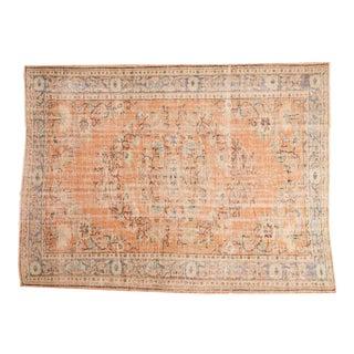 "Vintage Oushak Carpet - 6'4"" x 8'11"""