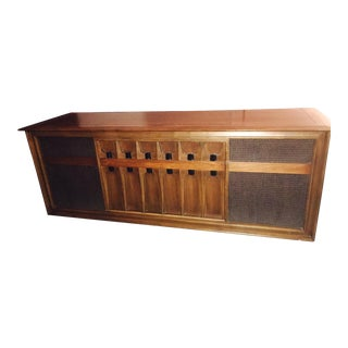 Mid Century Modern Victrola Rca Victor Stereo Console