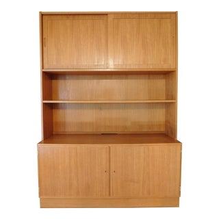 Danish Teak Bookcase & Credenza