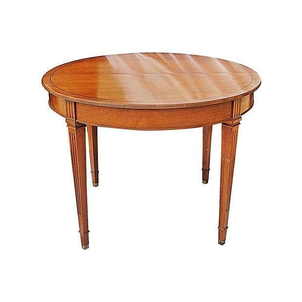 Henredon Heritage Mahogany Dining Table - Image 1 of 6
