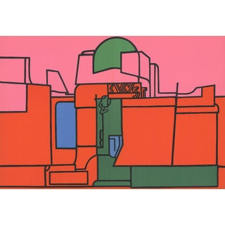 Valerio Adami, Dlm No. 188 Pages 22,23, 1970 Lithograph