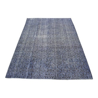 "Traditional Turki̇sh Overdyed Rug - 6'10"" x 10'7"""