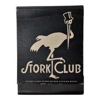 Jumbo Stork Club Matchbook