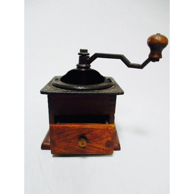 Antique cast iron coffee grinder chairish for Cast iron coffee