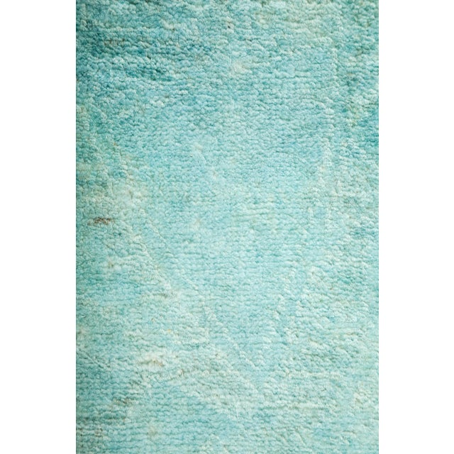 "Overdyed Hand Knotted Area Rug - 3'1"" X 4'10"" - Image 3 of 3"