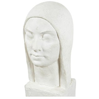 WPA Style Sculpture of a Woman