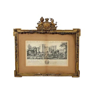 English Historical Framed Engraving