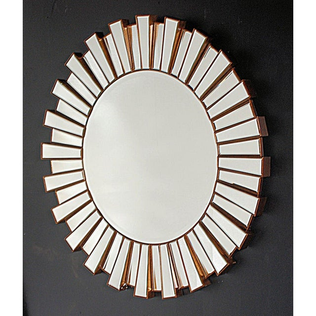 Hollywood Regency-Style Sunburst Mirror - Image 2 of 3