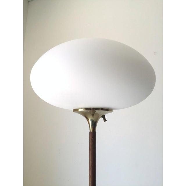Vintage Laurel Quot Mushroom Quot Glass Floor Lamp Chairish