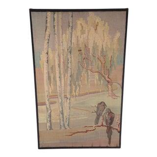Circa 1915 Amsterdam School Pictorial Tapestry