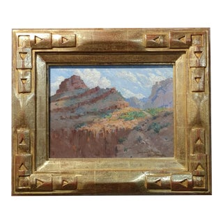 Benjamin Brown -Grand Canyon -Beautiful Impressionist Oil Painting