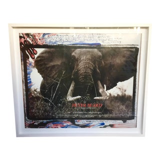 """Peter Beard """"Carnets Africans"""" Exhibition Poster"""