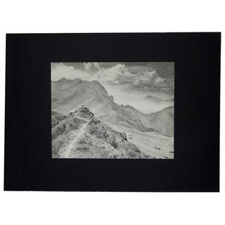 Photogravure by Ching-San Long, Lookout