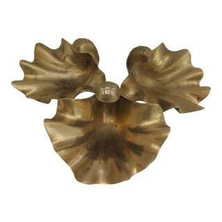 Brass Sea Shell Bowls - Set of 3