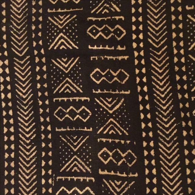 Black & Ivory African Mud Cloth - Image 5 of 5