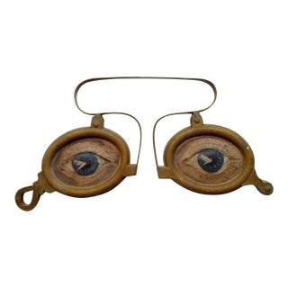 Folk Art Eyeglasses Trade Sign