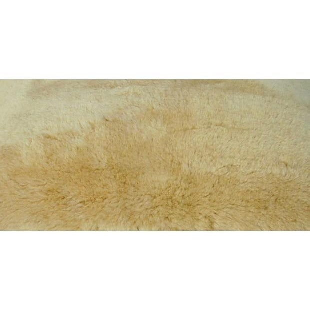 Image of Ultra Soft Golden Shearling Lambswool Pillow