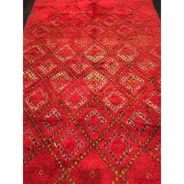 """Bellwether Rugs Organic Wool Beni Orin Moroccan Rug - 5'10""""x8'7"""" - Image 3 of 8"""