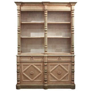 19th c. French Painted Buffet Du Corps